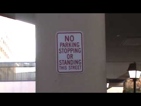 Not allowed to stop/stand in police state Amerika-Atlantic City