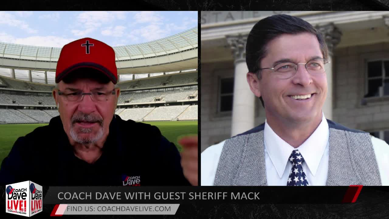 Coach Dave LIVE with Guest Sheriff Richard Mack | 4-30-2020