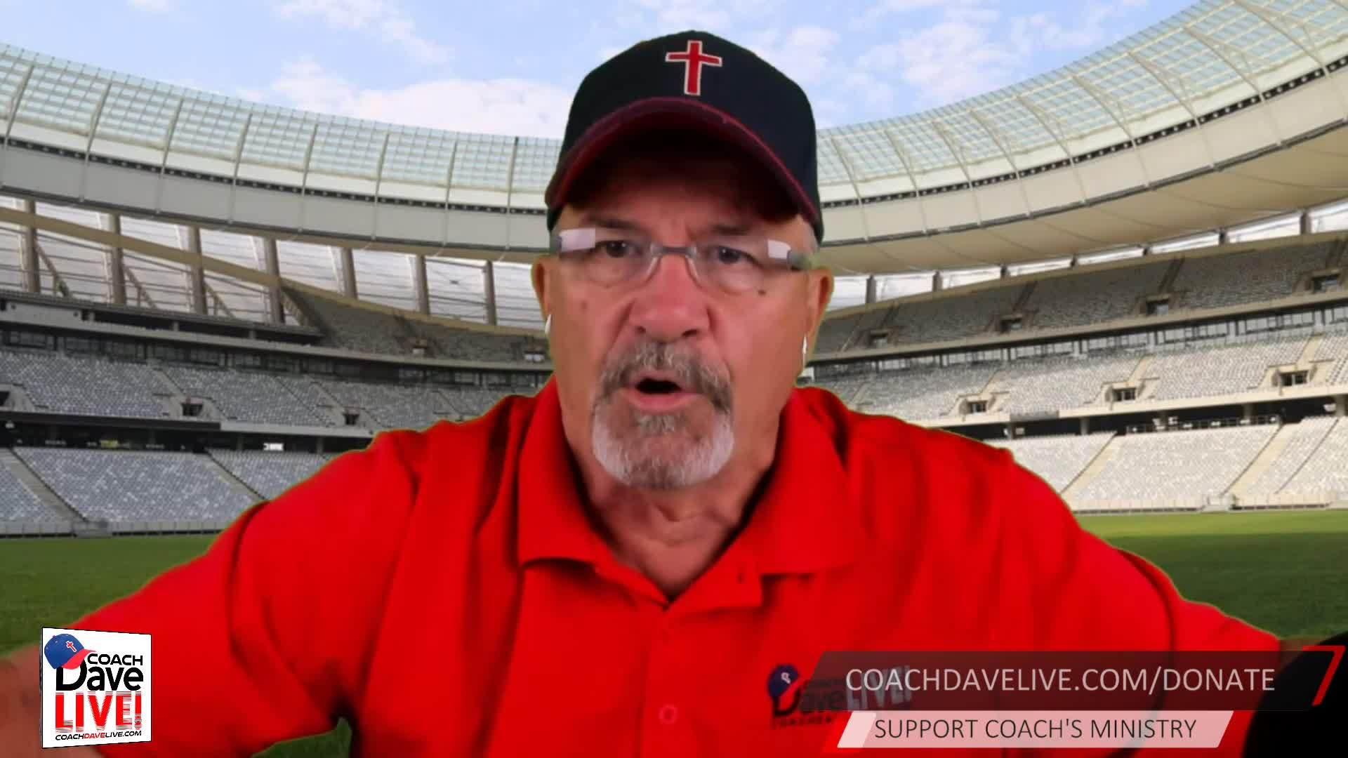 Coach Dave LIVE | 08-10-2020 | The Standard of the Church