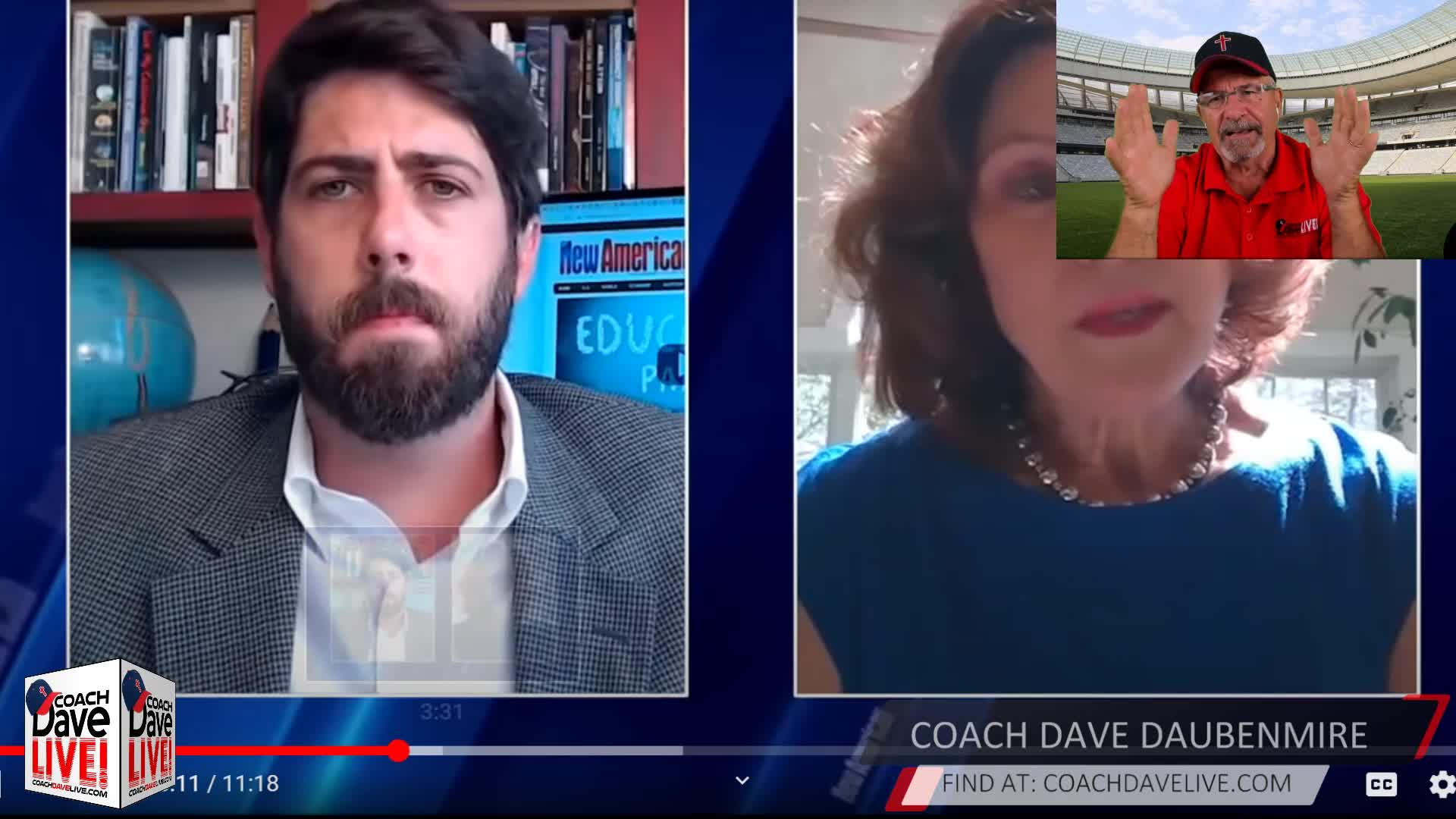 Coach Dave LIVE | 08-20-2020 | FAKE PANDEMIC?