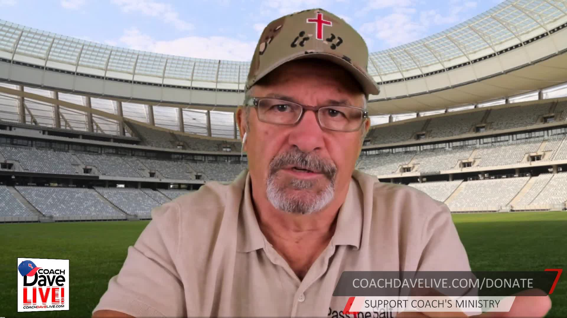 Coach Dave LIVE   10-23-2020   FOWL USE OF THE SWORD