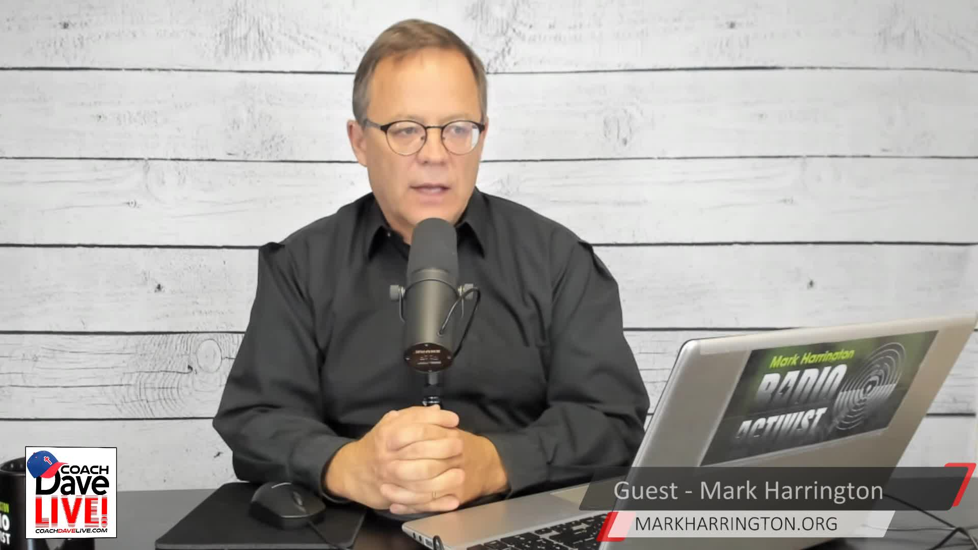 Coach Dave LIVE   10-29-2020   CREATED EQUAL