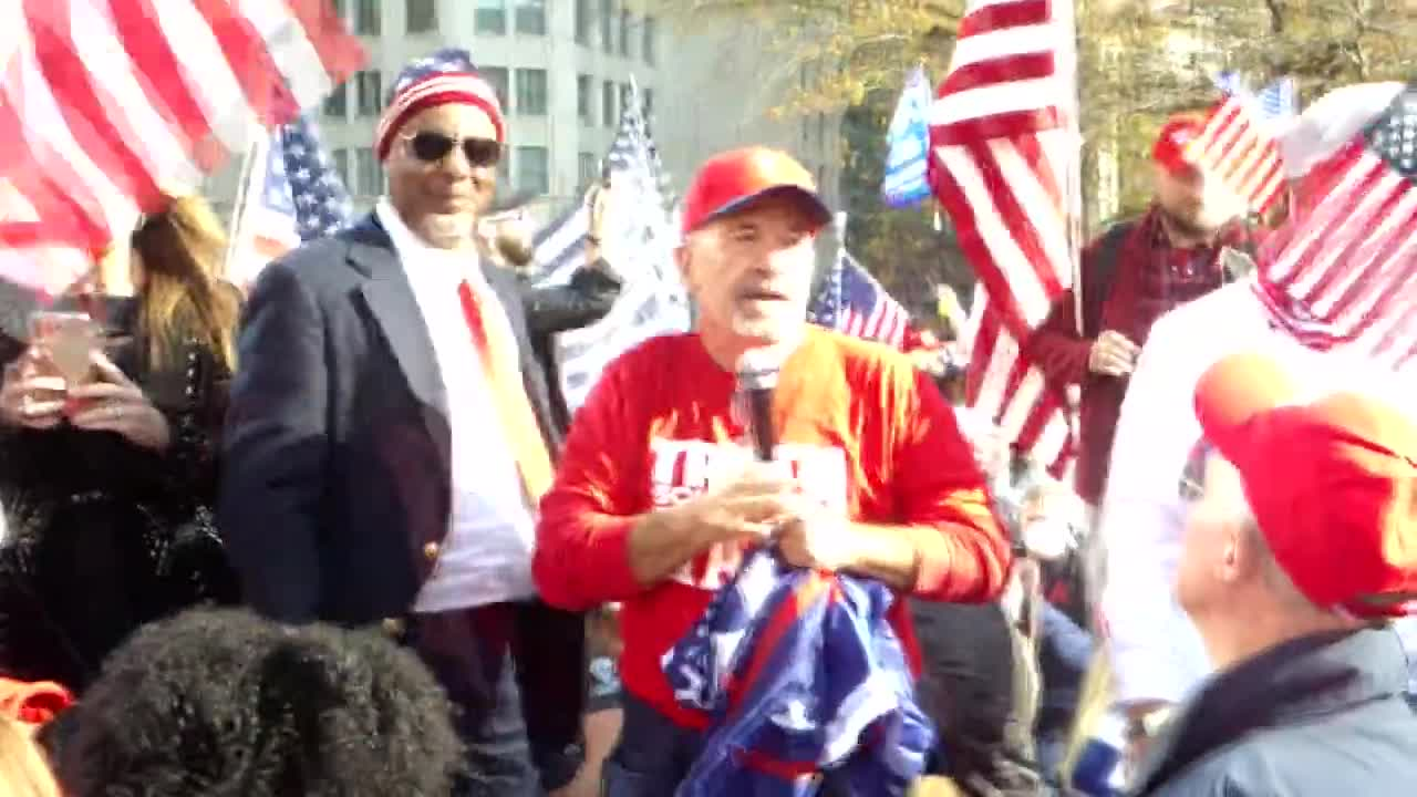 COACH DAVE AT STOP THE STEAL RALLY IN DC!