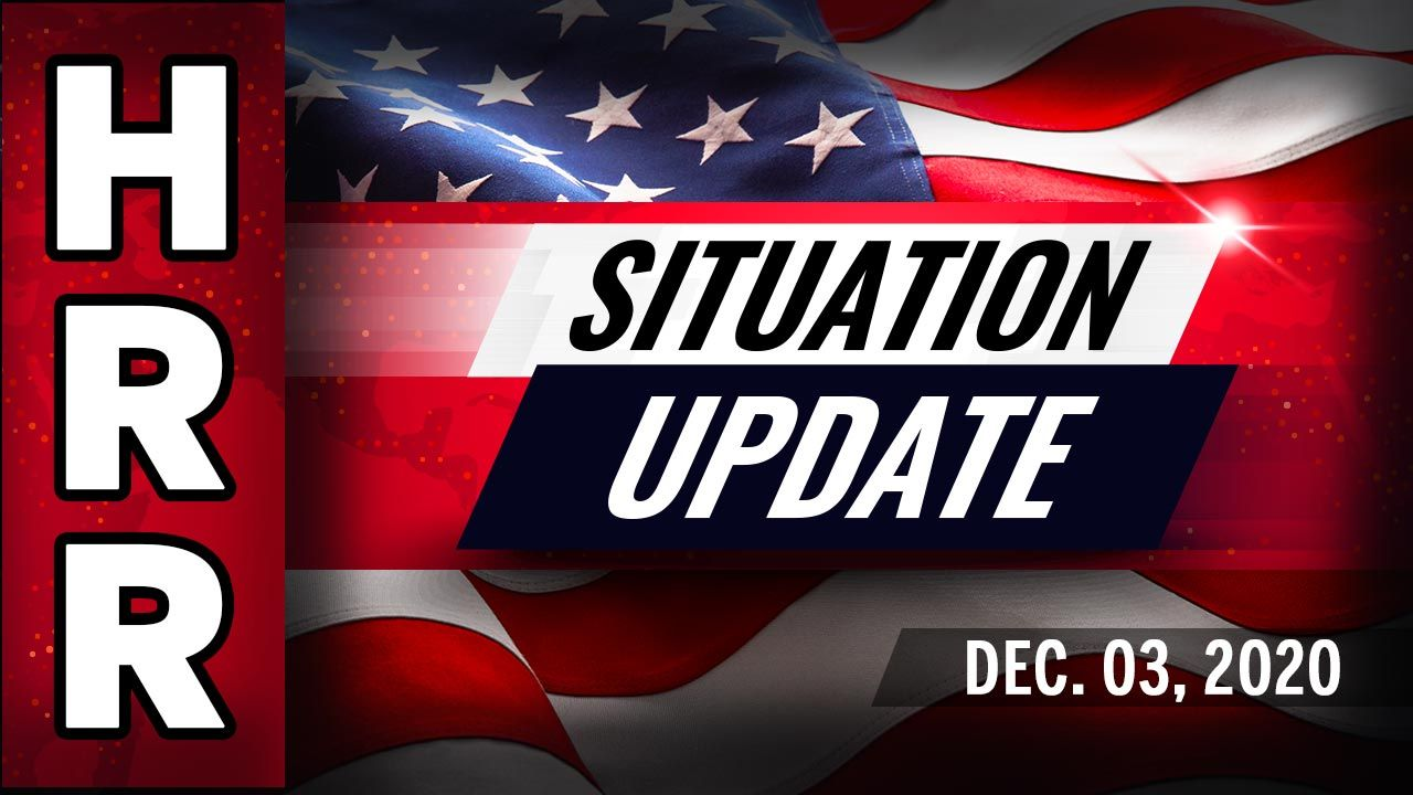 Situation Update, Dec. 3rd - Trump invokes foreign interference provision of 2018 EO