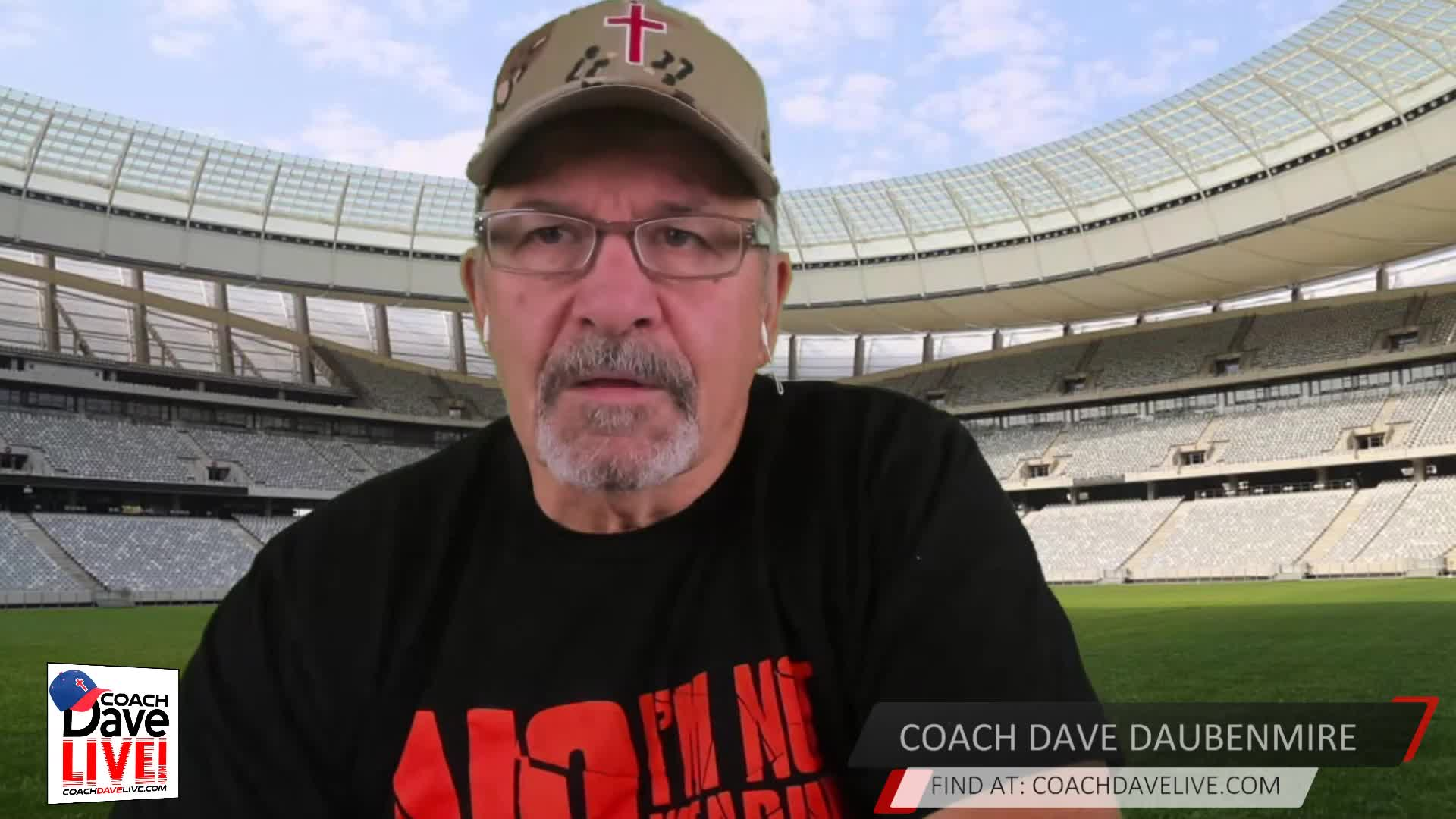 Coach Dave LIVE   12-10-2020   FOOD MATTERS