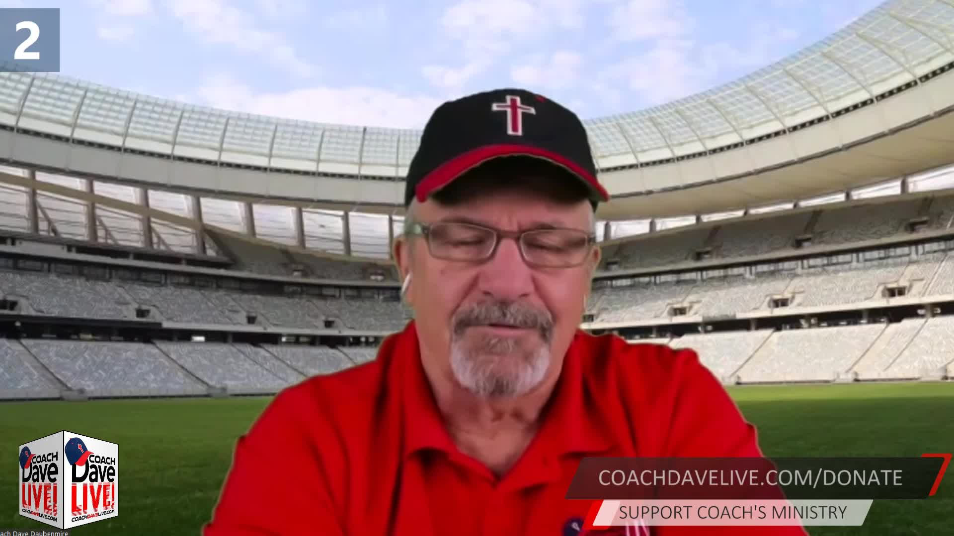 Coach Dave LIVE   12-14-2020   CHRIST IS KING
