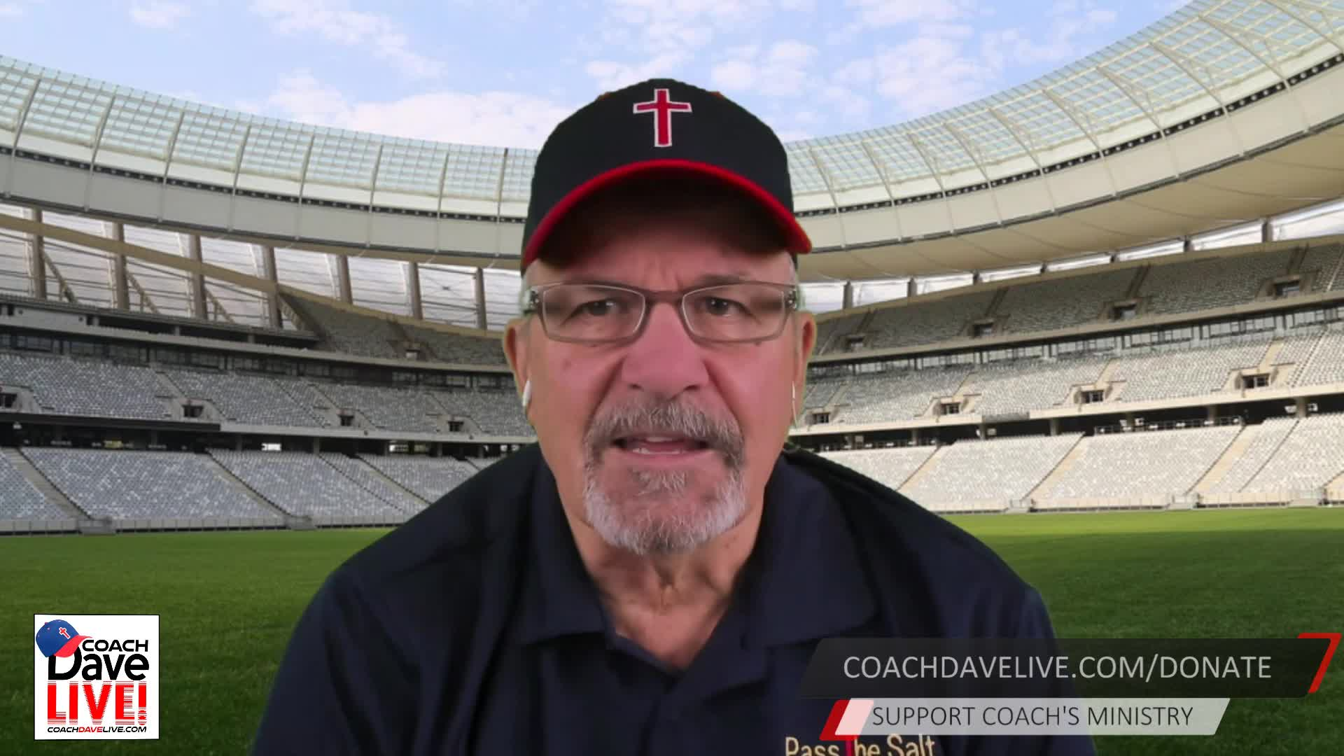 Coach Dave LIVE   01-12-2021   BE ANXIOUS FOR NOTHING