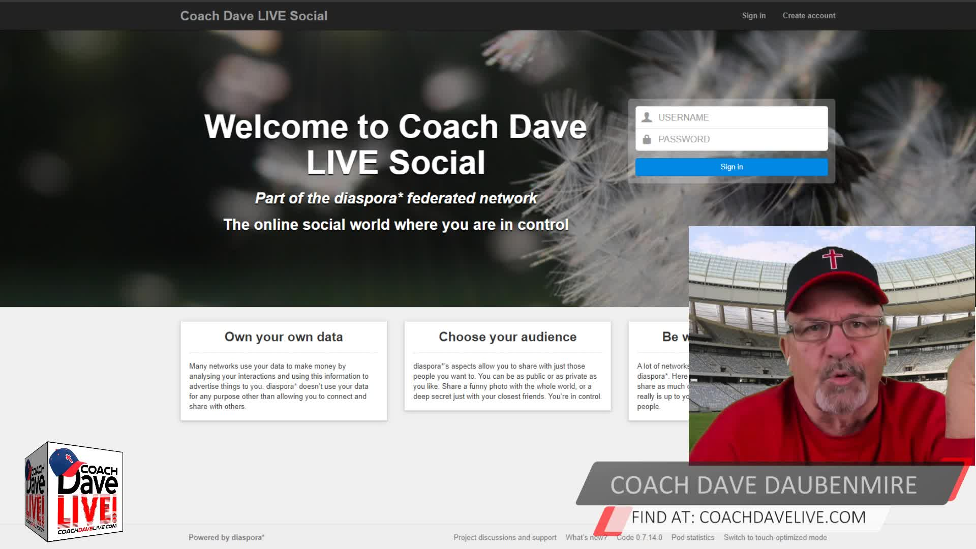Coach Dave LIVE   01-14-2021   THE CASTRATION OF THE CHRISTIAN MALE
