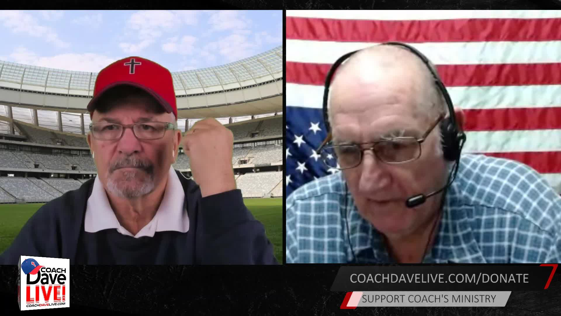 Coach Dave LIVE | 01-15-2021 | GOVERNMENT IS FORCE -G WASHINGTON