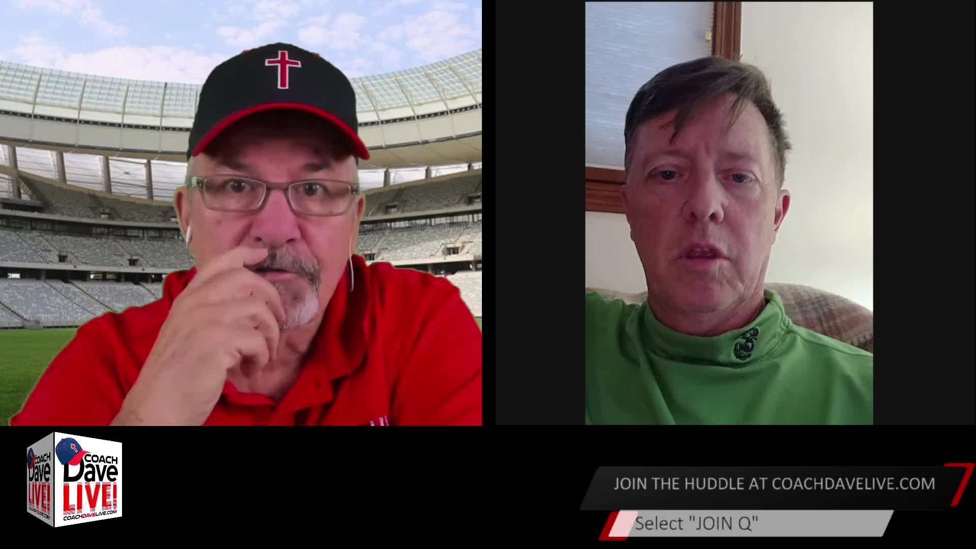 Coach Dave LIVE | 01-22-2021 | RUN for OFFICE