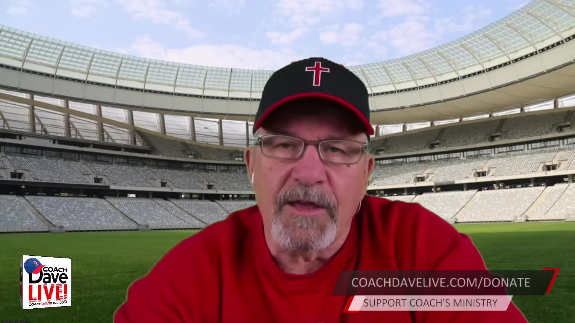 Coach Dave LIVE   3-15-2021   JESUS TOLD PETER THAT HE HAD TO BE CONVERTED - AUDIO ONLY