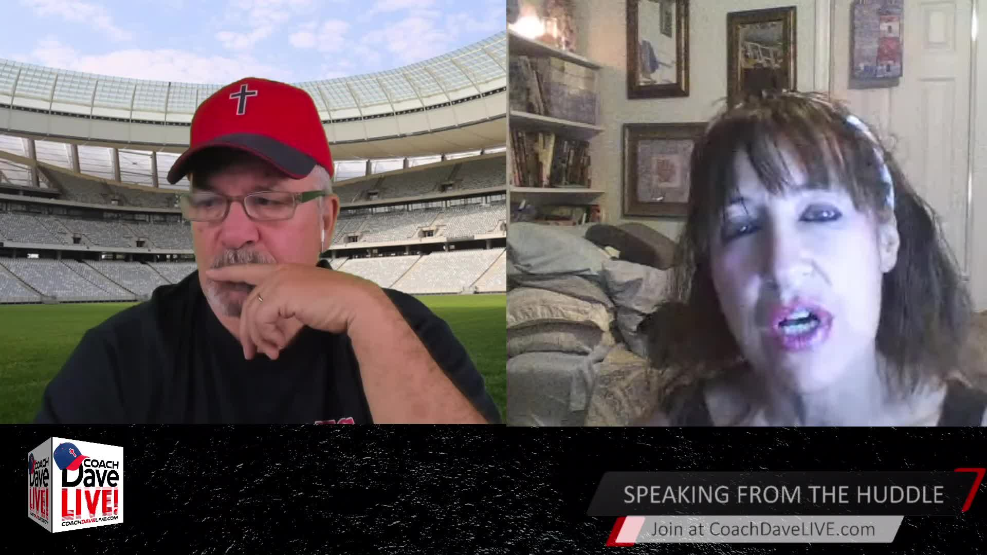 Coach Dave LIVE   3-25-2021   DEATH BY FEAR