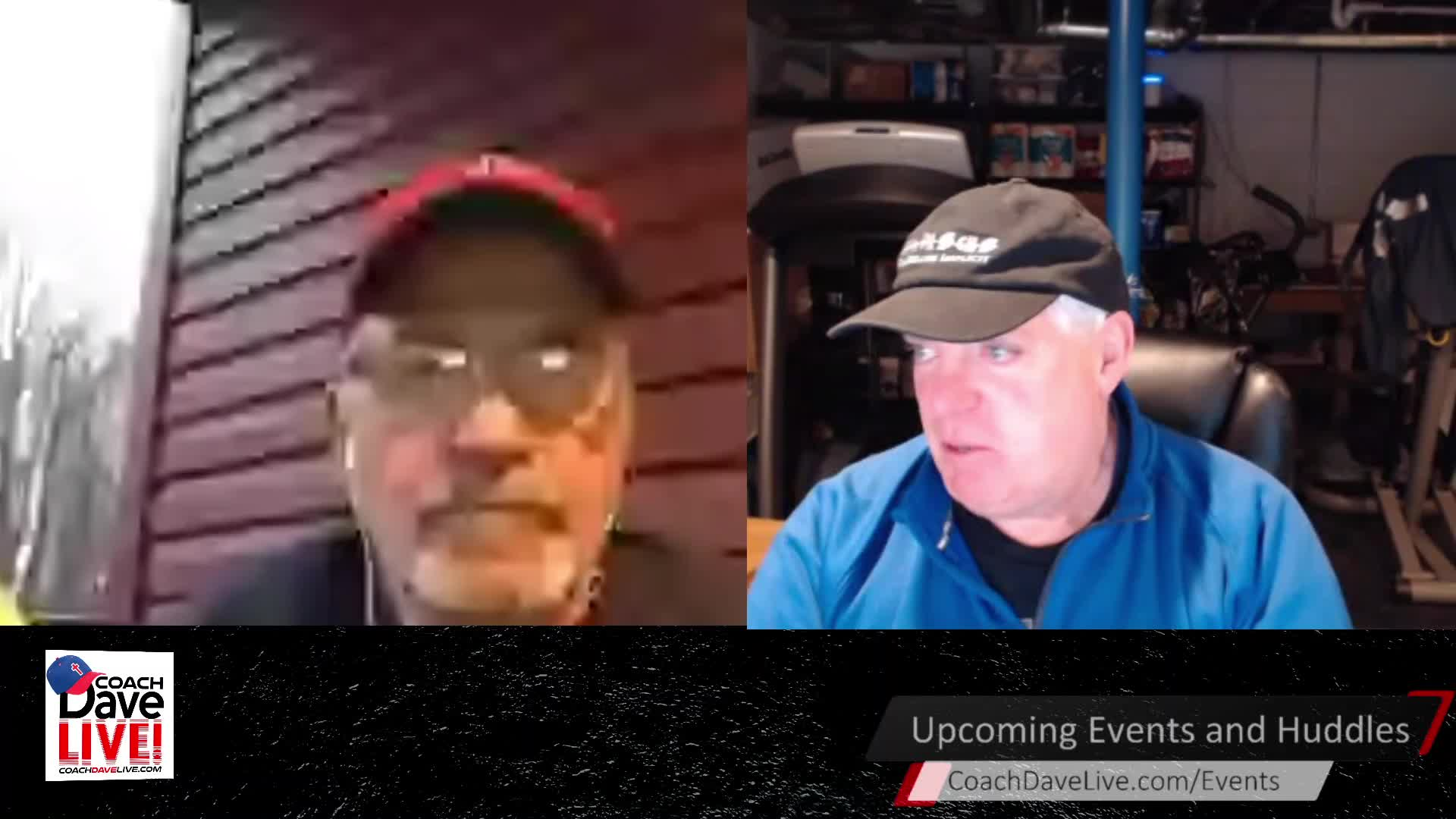 Coach Dave LIVE   3-26-2021   FLEA FLICKER FRIDAY, AND THE POWERS OUT!
