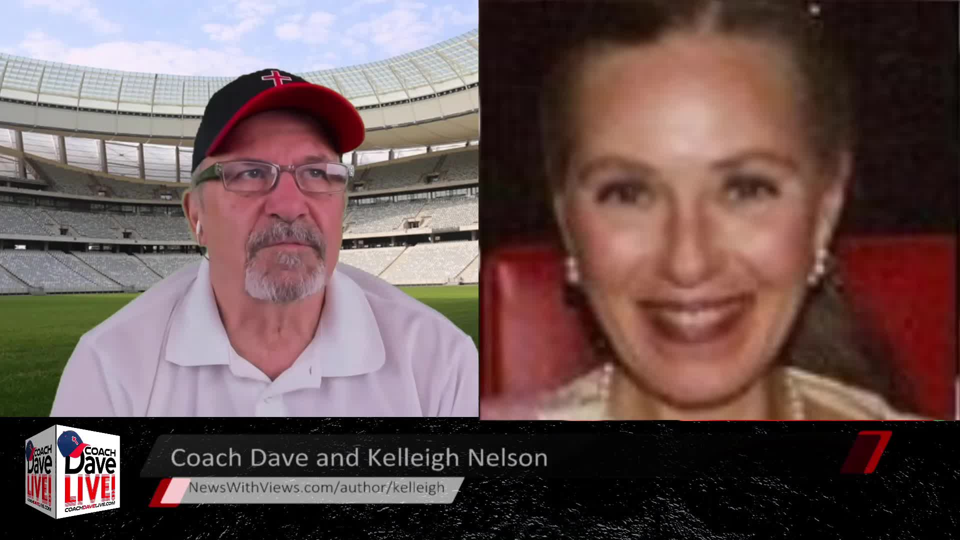 Coach Dave LIVE   4-1-2021   SPECIAL GUEST: AUTHOR KELLEIGH NELSON