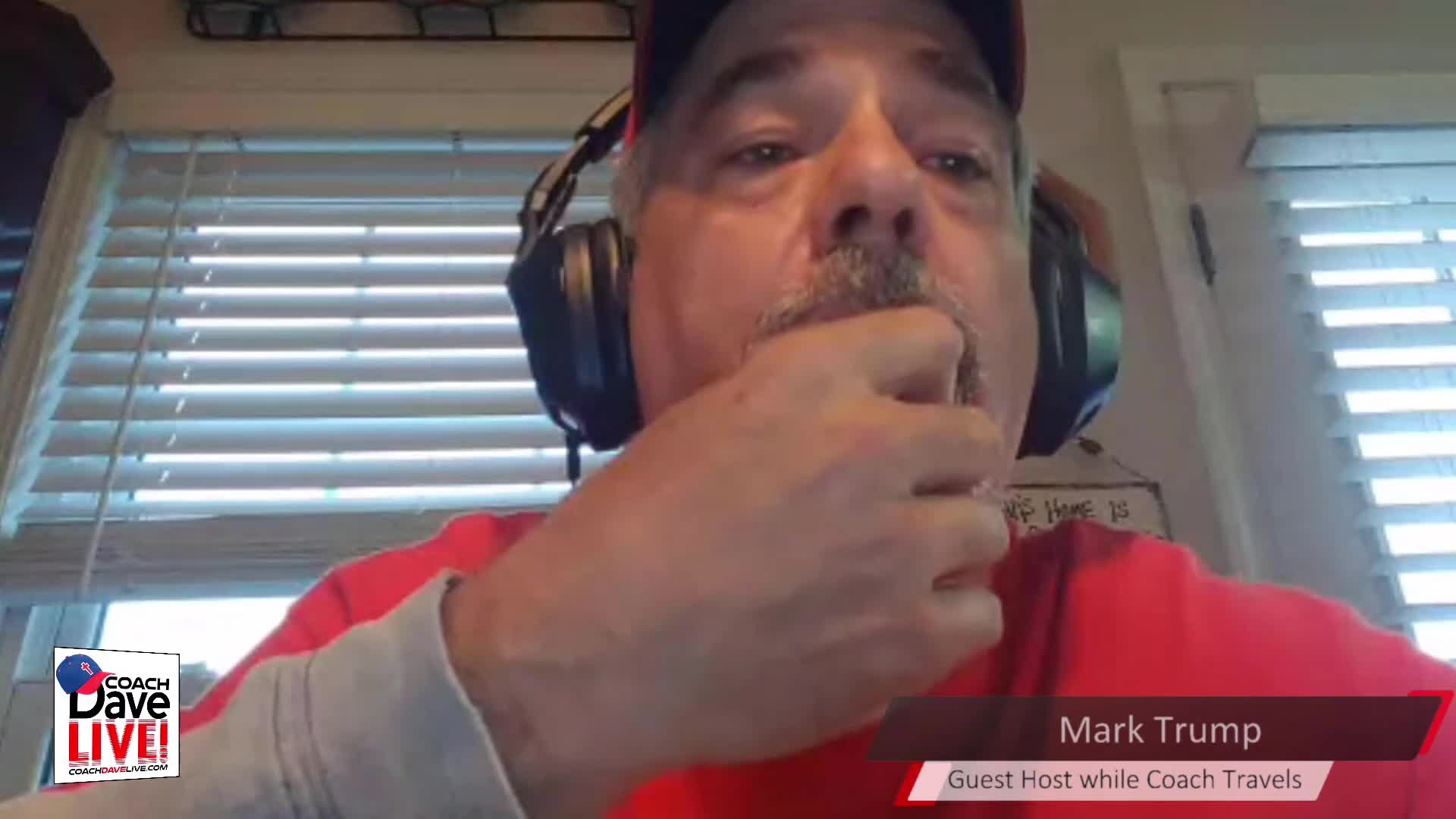 Coach Dave LIVE | 4-9-2021 | GUEST HOST MARK TRUMP: JUDGMENT OF THE WORLD - AUDIO ONLY