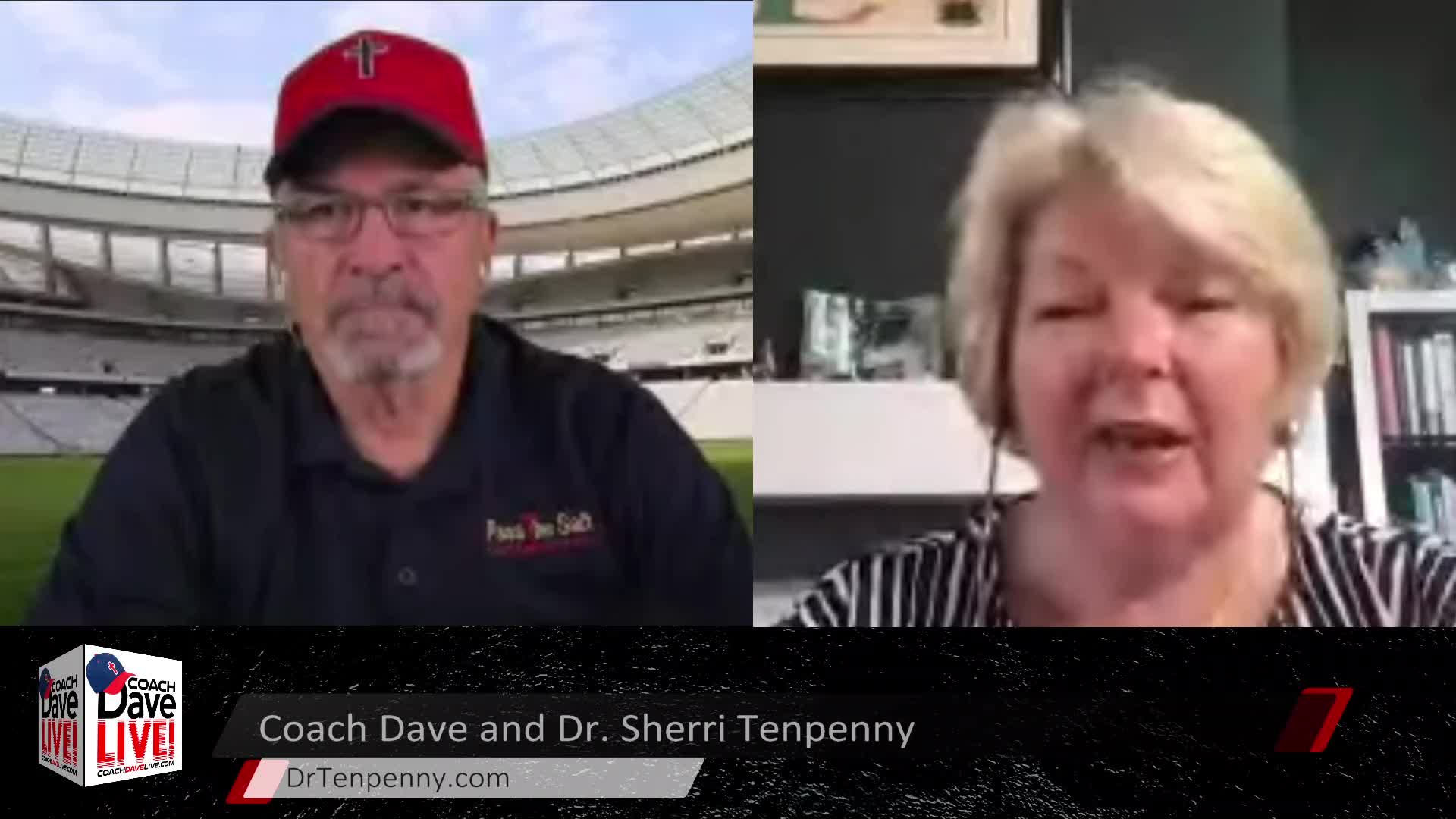 Coach Dave LIVE   5-21-2021   SPECIAL GUEST DR. SHERRI TENPENNY - AUDIO ONLY