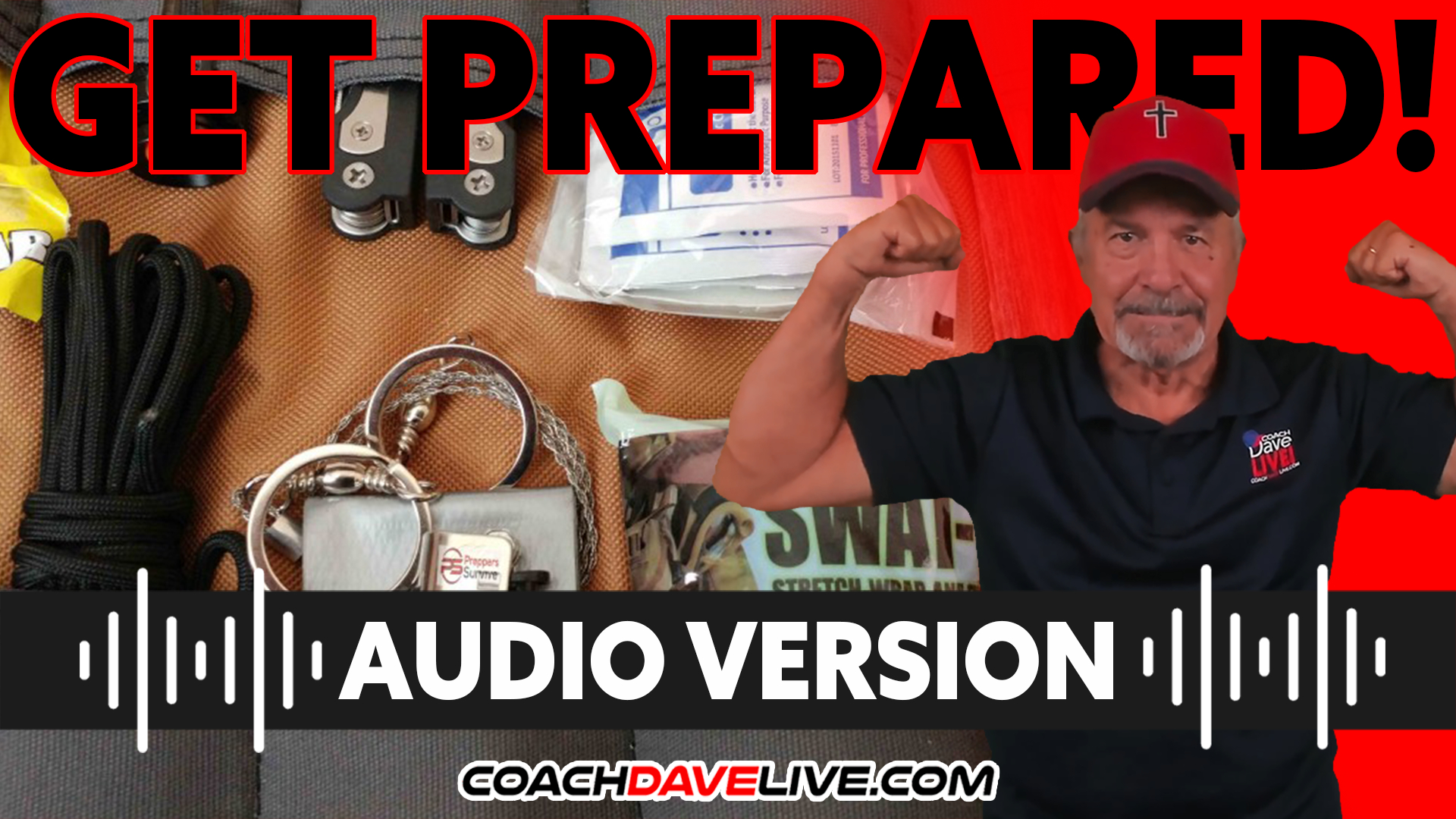 Coach Dave LIVE | 9-30-2021 | GET PREPARED! - AUDIO ONLY