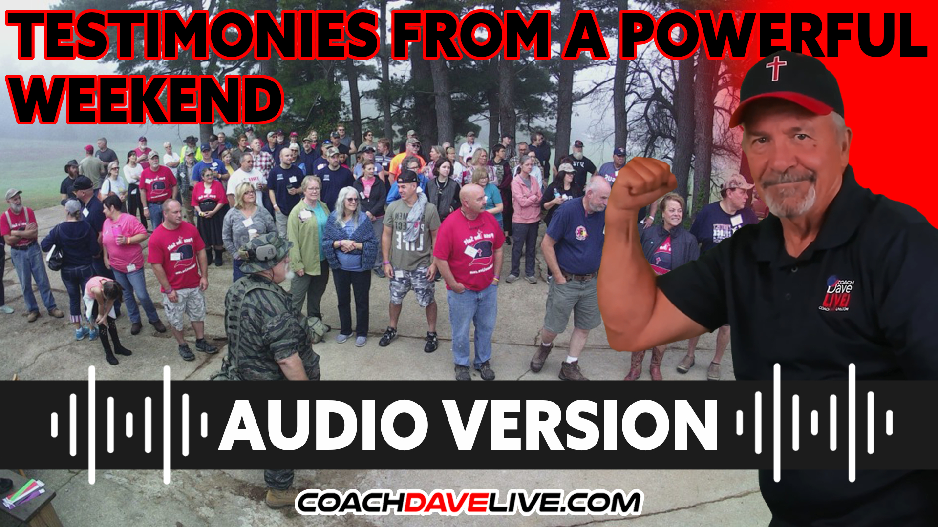 Coach Dave LIVE | 10-11-2021 | TESTIMONIES FROM A POWERFUL WEEKEND - AUDIO ONLY
