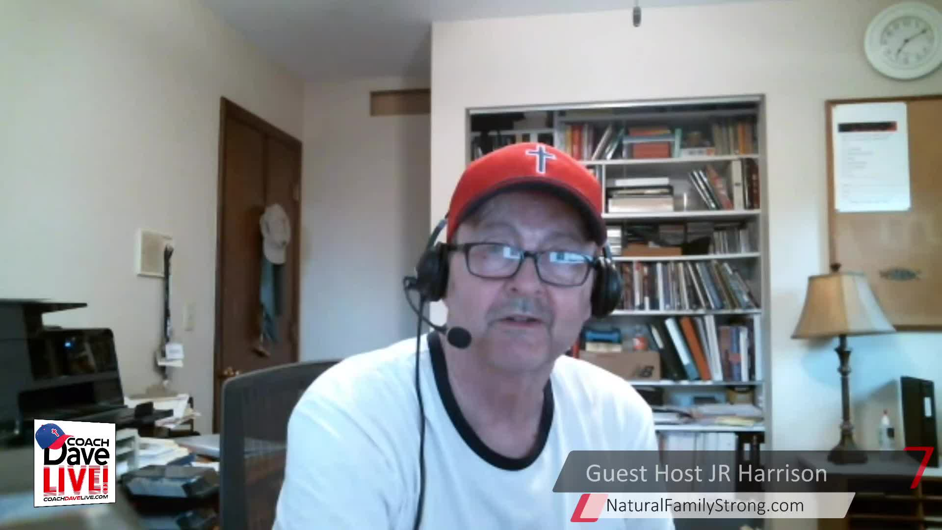 Coach Dave LIVE   5-21-2021   FFF: GUEST HOST JR HARRISON ON FAMILY