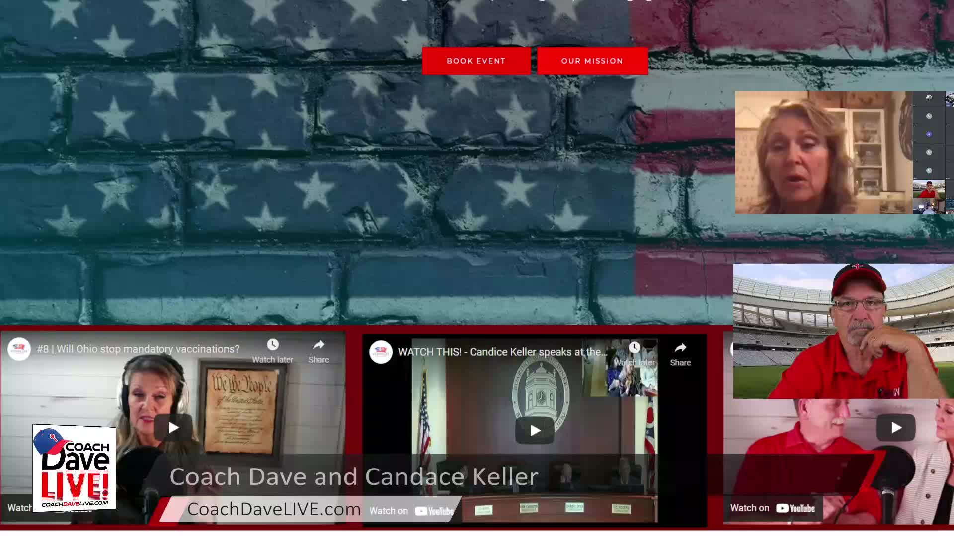 Coach Dave LIVE   6-3-2021   POLITICS ARE LOCAL WITH GUEST CANDACE KELLER
