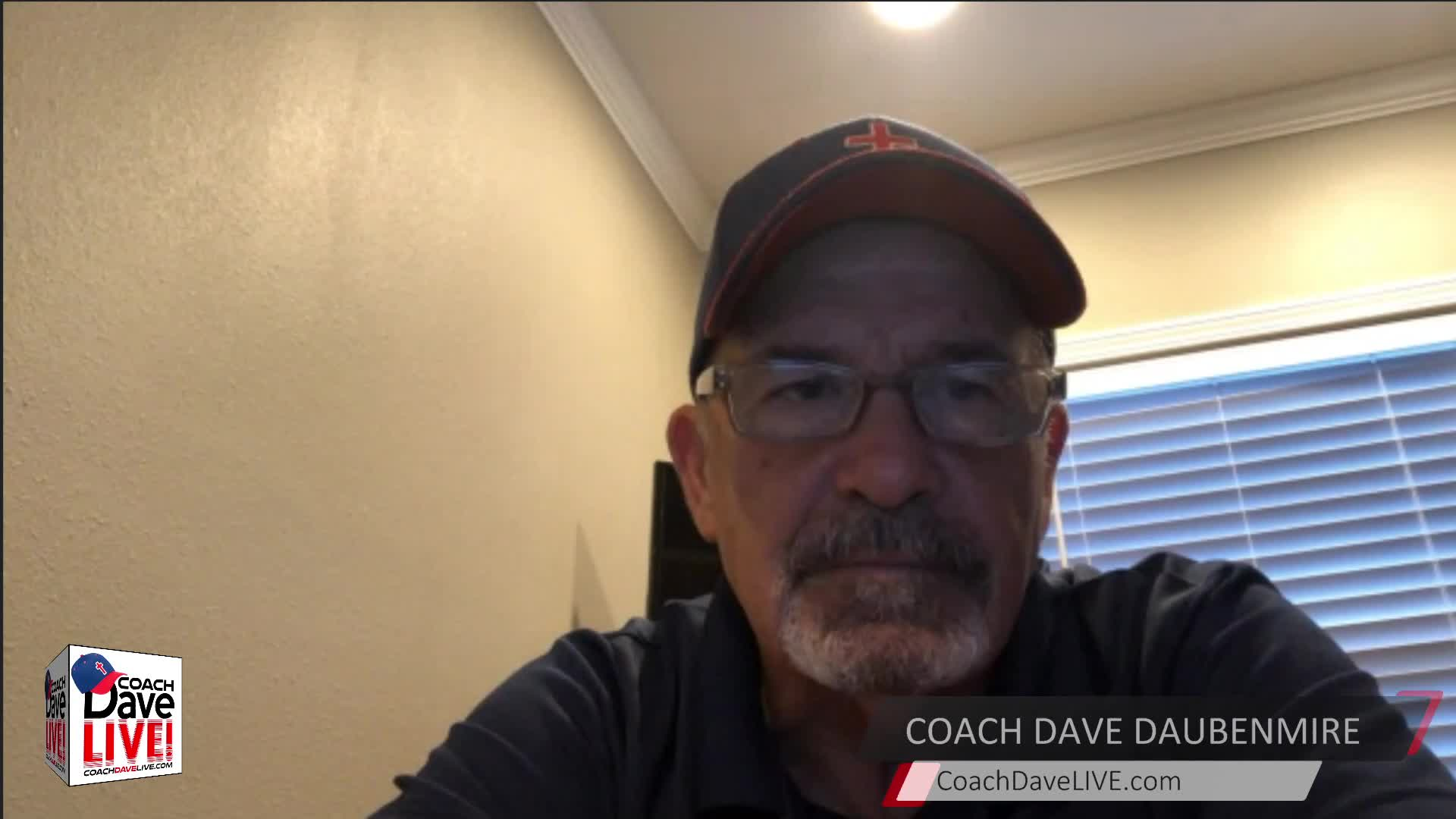 Coach Dave LIVE   6-9-2021   JESUS WHAT HAPPENED TO US?