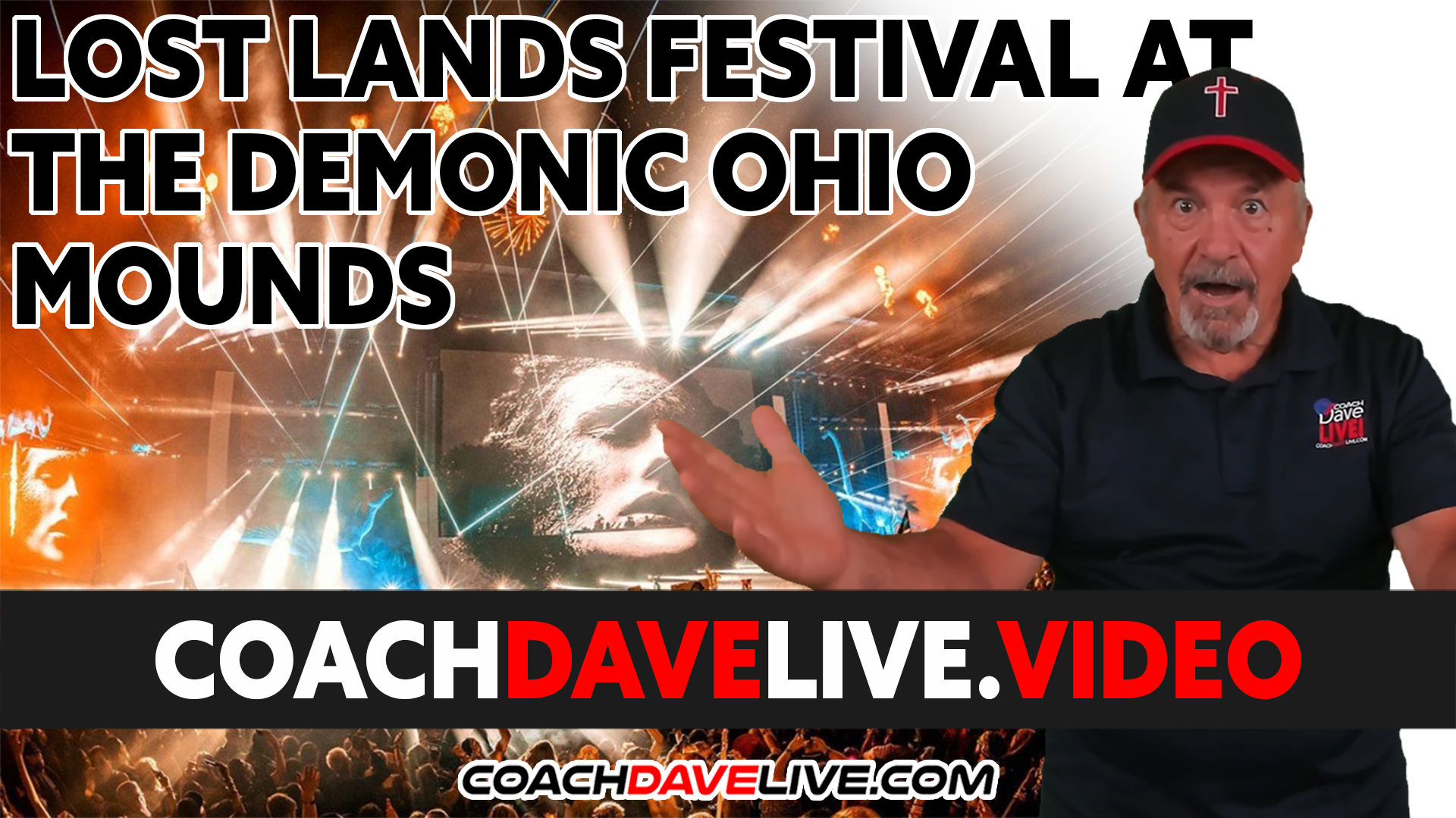Coach Dave LIVE | 9-20-2021 | LOST LANDS FESTIVAL AT THE DEMONIC OHIO MOUNDS