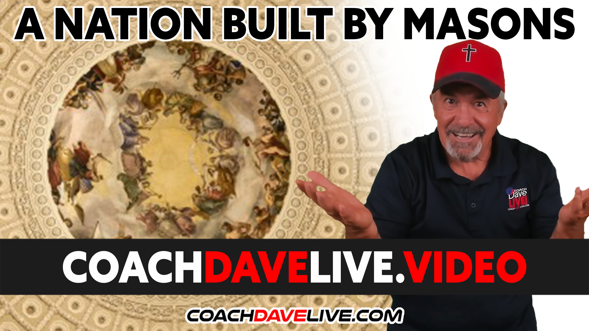 Coach Dave LIVE | 9-24-2021 | A NATION BUILT BY MASONS