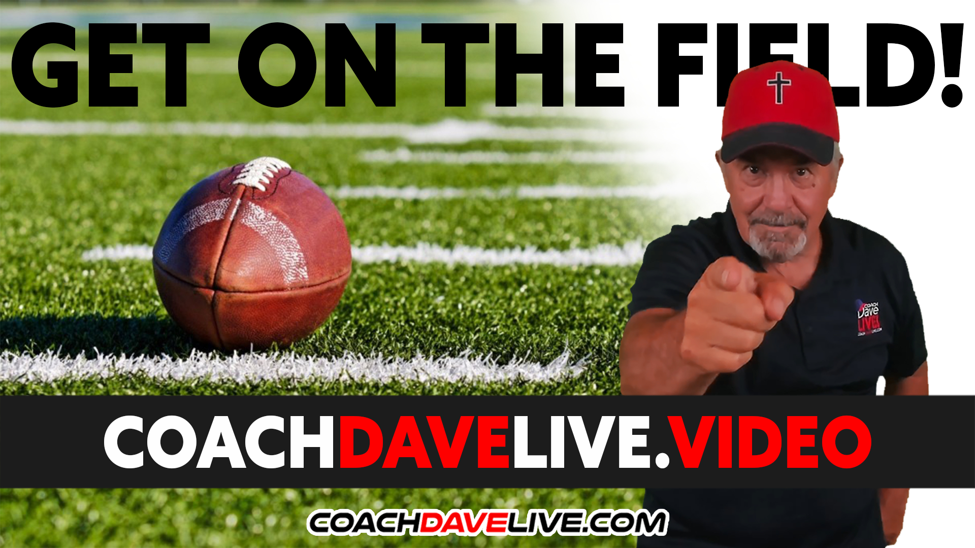 Coach Dave LIVE | 10-6-2021 | GET ON THE FIELD!